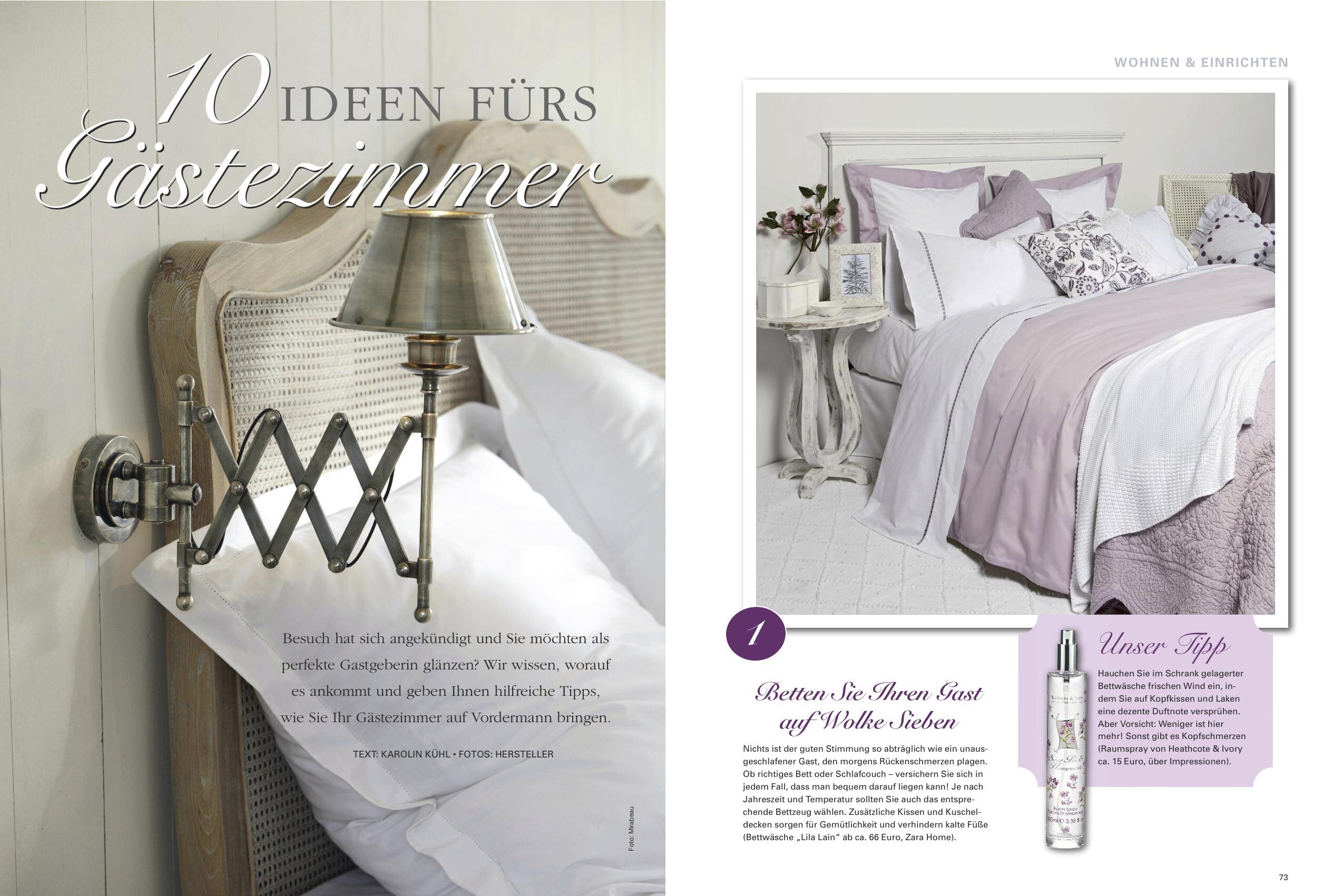 stilvolle kleines g stezimmer einrichten dawnoo dezain. Black Bedroom Furniture Sets. Home Design Ideas